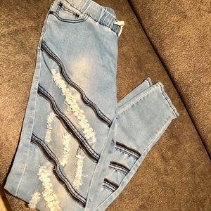 Denim - women american bazi jogger skinny jeans nwt
